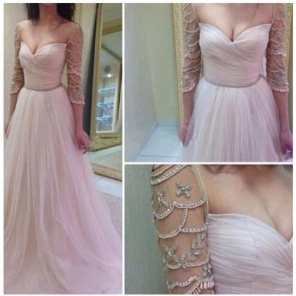 Tulle Prom Dresses,Long Evening Dre..