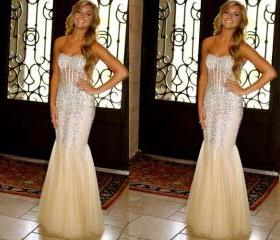 Champagne Prom Dresses on Luulla