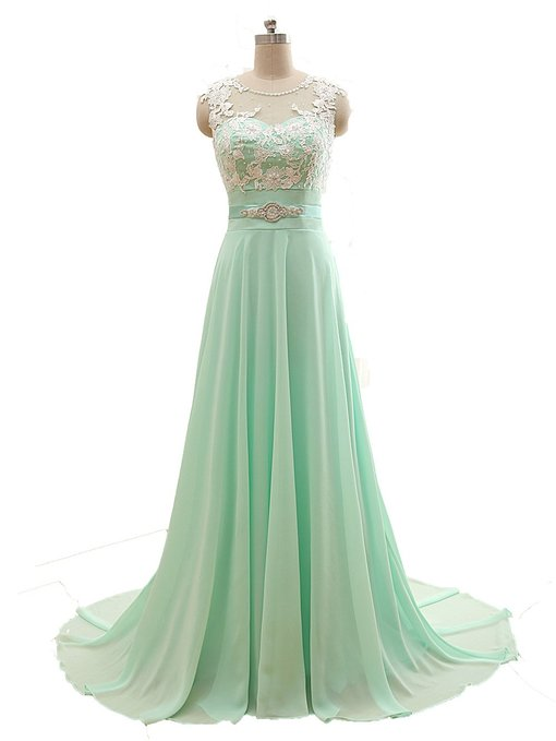 Mint Green Prom Dresses,2016 Evening Dresses,New Fashion Prom ...