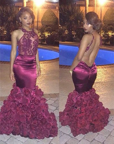 Applique Dresses for Prom