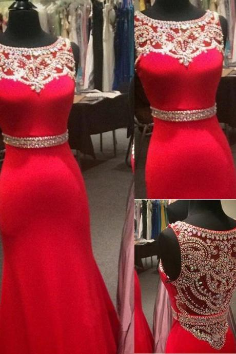 High Quality Prom Dress,Red Mermaid Prom Dress,Red Prom Gowns,Sparkly Prom Dress,Best Friends Prom Dress,Beaded Prom Dress,Graduation Dress