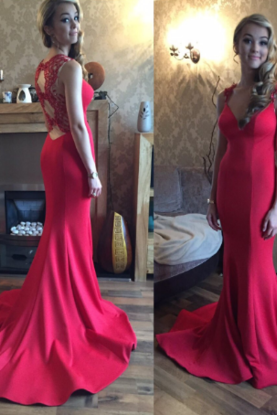 New Arrival Prom Dress,Long Prom Dresses,Cheap Prom Dresses,Red Evening Dress,Prom Gowns,Women Dress