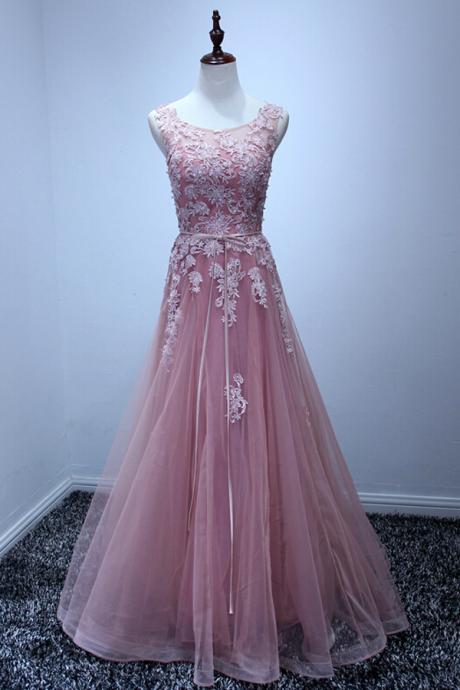 New Arrival Prom Dress,Long Prom Dresses,Cheap Prom Dresses, Evening Dress,Pink Prom Gowns,Women Dress