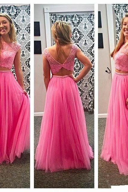 Prom Dress,Pink Prom Dress,Long Prom Dress,Evening Formal Dress