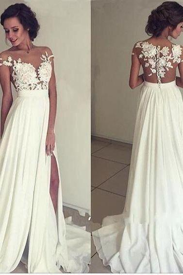 White Wedding Dresses,Sexy Wedding Dresses,Wedding Dress