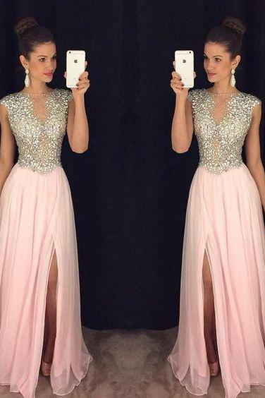 High Quality Prom Dress,A line Prom Dress,Beaded Prom Dress,Sexy Prom Dress,Modest Prom Gowns,Formal Prom Dress,Long Party Dress,2016 Fashion Women Dress
