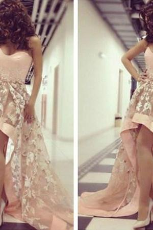 New Arrival Sexy Prom Dress Prom Dress High Low Party Dress Evening Dress