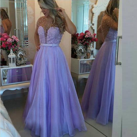 Chiffon Evening Dresses ,Chiffon Long Prom Gowns ,Sexy Backless Prom Dress